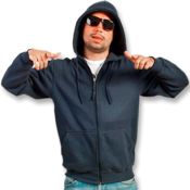 Full Zip Adult Hoodie Mid Weight (S–5XL)