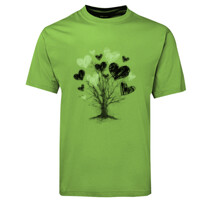 Love Heart Tree Branches Design