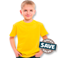 All-Rounder Kids T-Shirt (Size 8 to 14)