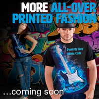 MORE ALL-OVER PRINTED FASHION coming soon…