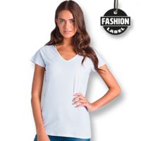 Bevel Womens V-Neck TShirt (XS–XL) by AS Colour