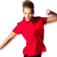 Botany Ladies Performance Sport Polo (Size 6 to 26)