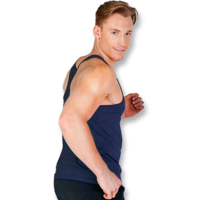 T-Back Mens Singlet (S–3XL)