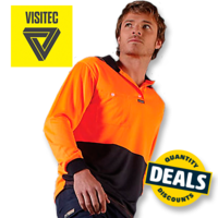 Visitec Basic Airwear Long Sleeve Polo (S–6XL)