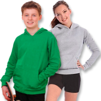 Classic Kids Pop-Over Hoodie (Size 4 to 14)