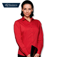 Mosman Long Sleeve Ladies Shirt (Sizes 4 to 26)