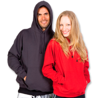 Lite Pull Over Adult Hoodie Light Weight (Ladies 4 to 14, Mens XS – 5XL)