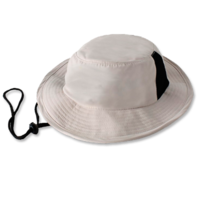 Microfibre Vented Surf Hat with Toggle Cord