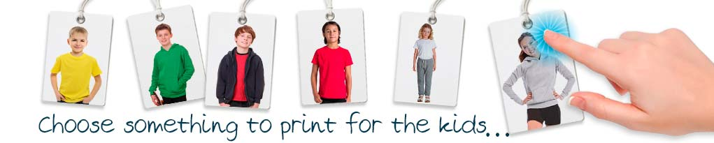 design your own kids custom printed tshirts.